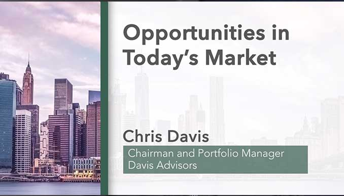 Opportunities in Today's Market